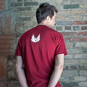 America Bombs Double Doves Design by PROGRESS Label, Made in the USA