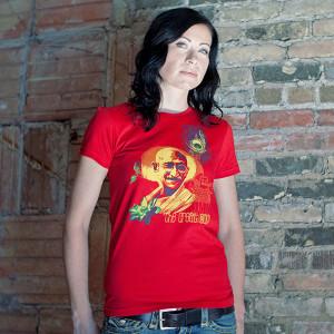 The Great Soul, Gandhi Women's T-shirt by PROGRESS Label
